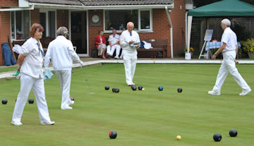 lawn bowls, verwood, dorset, social club, clubhouse
