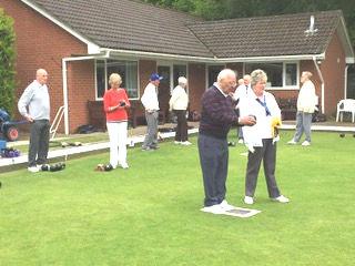 Lawn Bowls Verwood Dorset Social Club Clubhouse